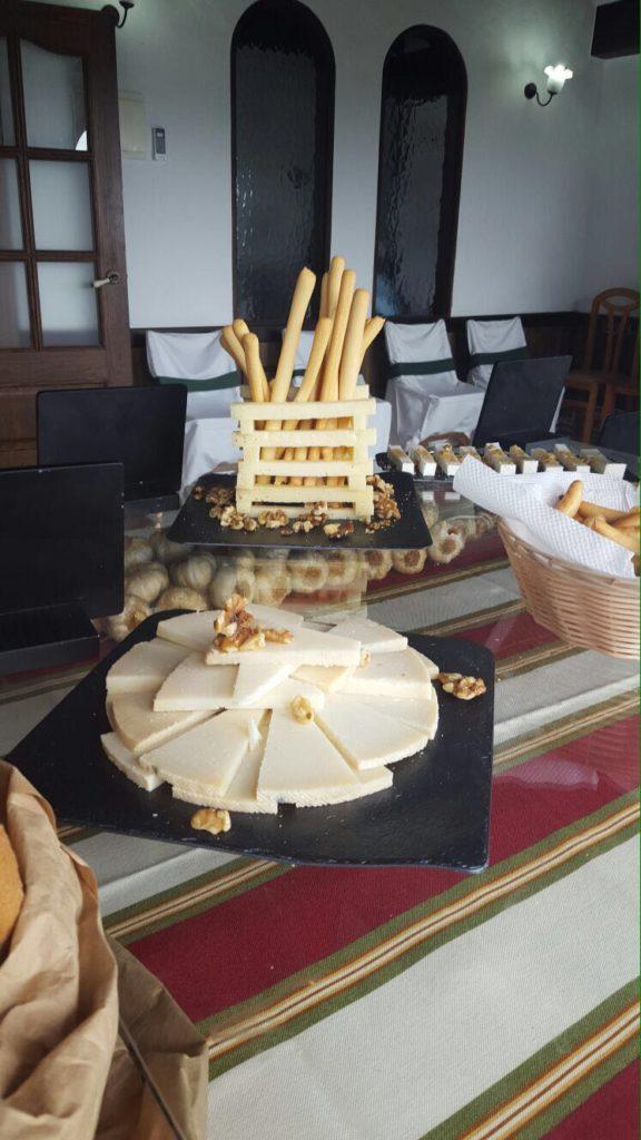decoracion quesos bodas