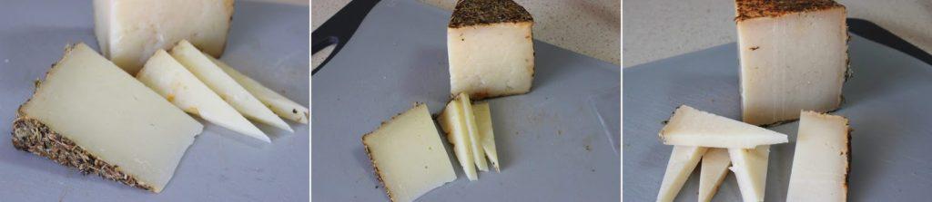 quesos con especias