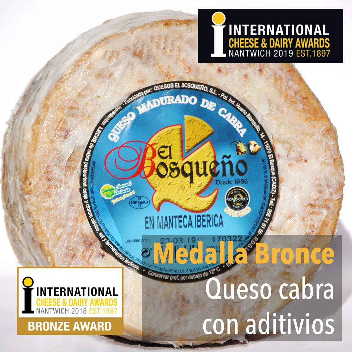 bronce international cheese awards 2019