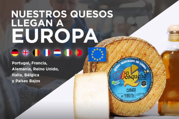 envíos queso a europa