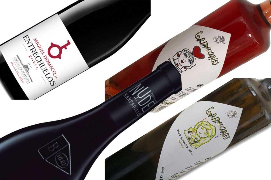 botellas de vinos de cádiz