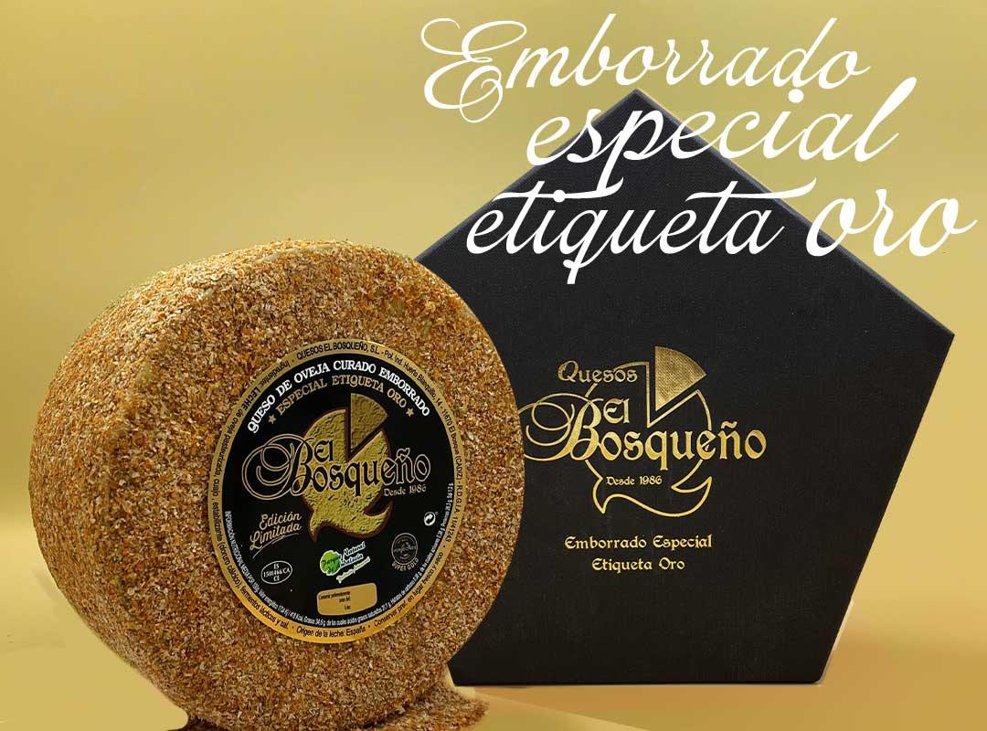 queso especial etiqueta oro